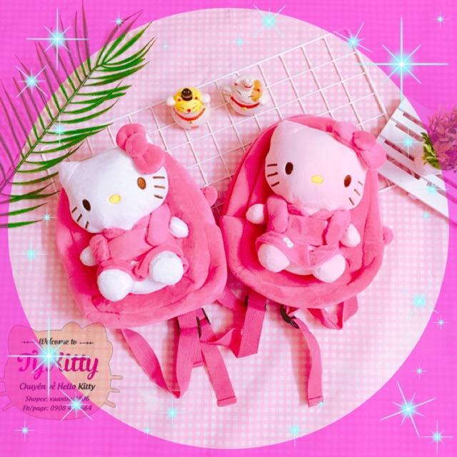 Balo đeo cho bé Hello Kitty