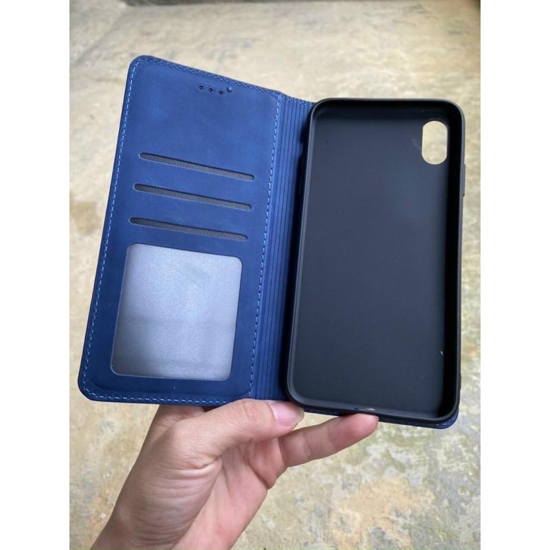 Bao da Sam Sung Galaxy A51/A71/A11/A31/A21S dạng ví chính hãng HDK có ngăn để thẻ và tiền hàng cao cấp
