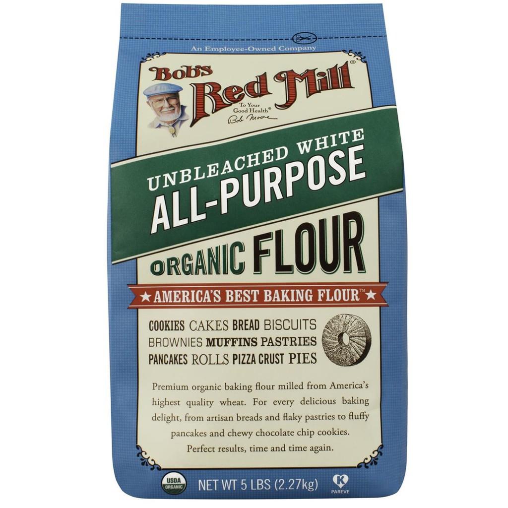 Bột mì đa dụng hữu cơ không tẩy trắng Bob's Red Mill 2.27kg   Shopee Việt  Nam