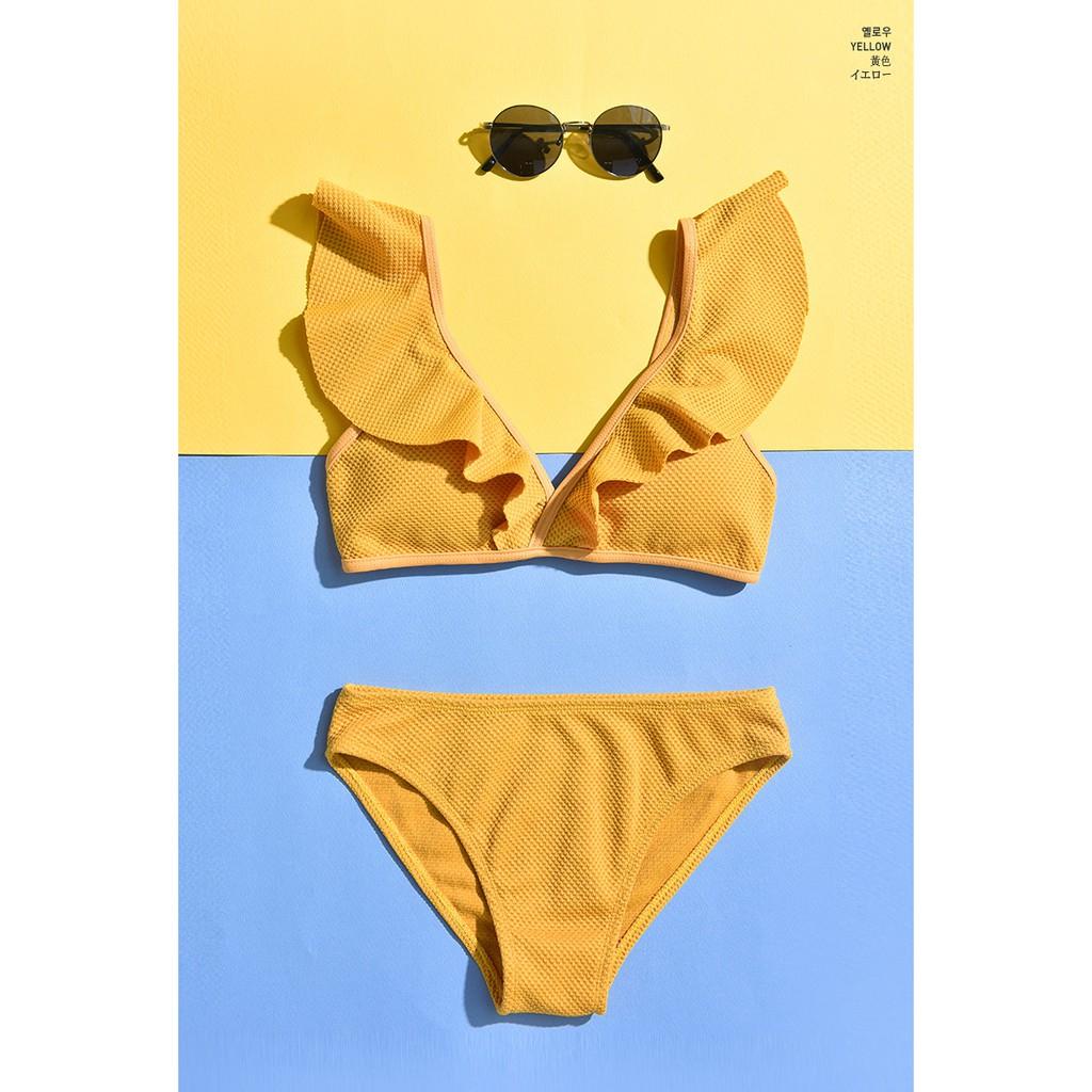 Set Bộ Đồ Quần Áo Tập Bơi Đi Tắm Biển Nữ Bikini 2 Mảnh 1913 - NAM CONY