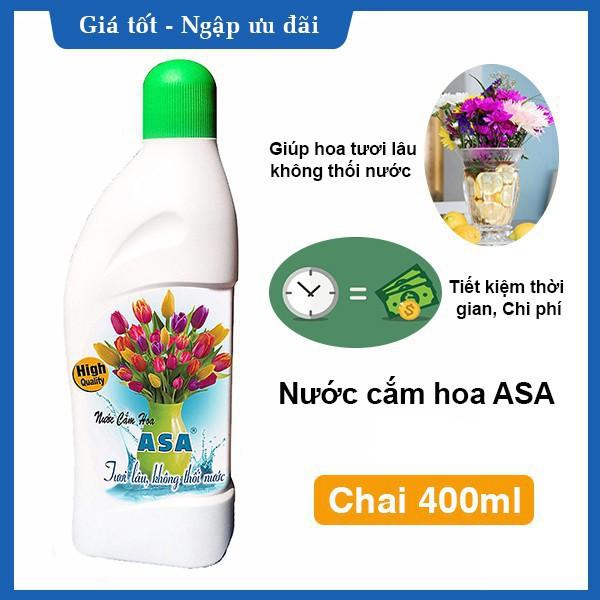 Nước cắm hoa tươi lâu ASA 400ml