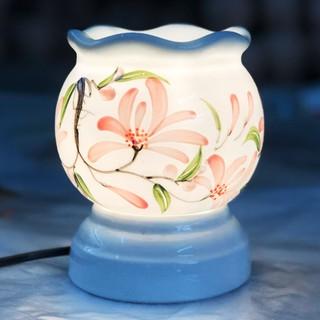 Đèn xông tinh dầu Bát Tràng size to cao 15cm 5