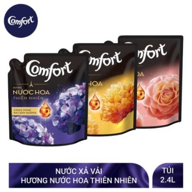 [Mã 267FMCGSALE giảm 8% đơn 500K] Xả vải Comfor hương nước hoa 2,4L, bella 2,8l, bella 3,2l, bella 3,8lu
