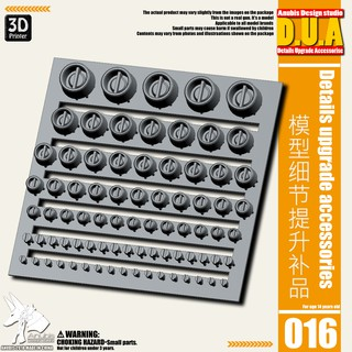 Phụ kiện mod ANUBIS – Chi tiết nhựa in 3D DUA016 chuyên dụng cho mô hình