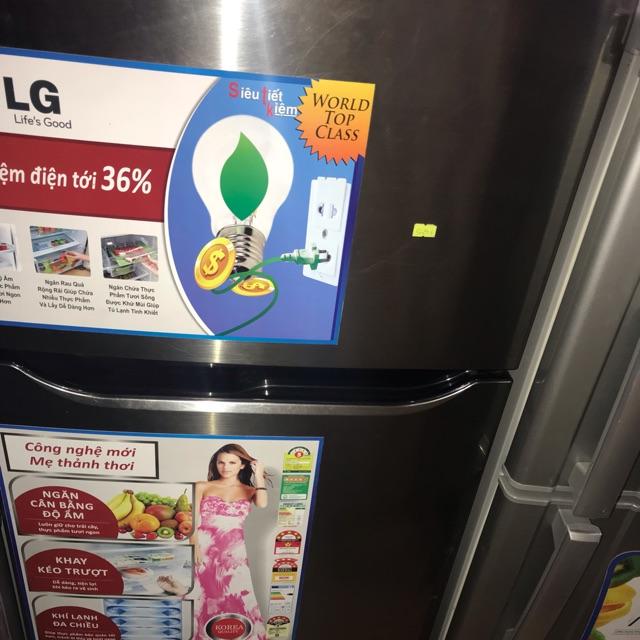 [ELPHATLOC giảm 8% tối đa 2TR] Tủ lạnh LG inveter 190l đã qua dử dụng bh 1 năm mp van chuyen