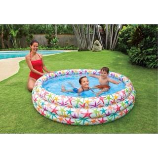[SHOCK] Bể bơi 3 tầng hình sao biển cho bé kt 1m68x38cm.