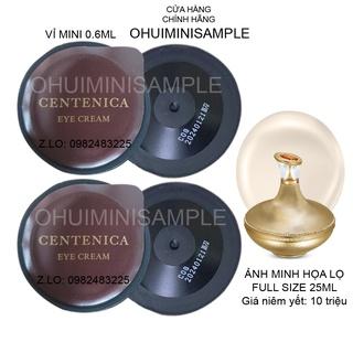 [Vip] Vỉ sample kem dưỡng mắt nghìn đô SU M 37 CENTENICA EYE CREAM xóa tan bọng mắt, giảm nhăn thâm hiệu quả (0.6ml) thumbnail