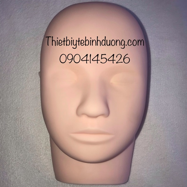 Đầu manocanh massage silicon