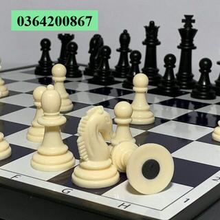 Bàn Cờ Vua Kiện Tướng Có Nam Châm Chống Đổ Khổ To 31X31Cm MS 040