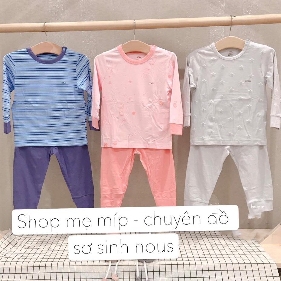 Bộ Dài Tay Cài Vai Cho Bé Nous - Shop Mẹ Míp 89B Dốc Ph
