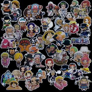 Sticker One Piece dán mũ bảo hiểm, laptop,…