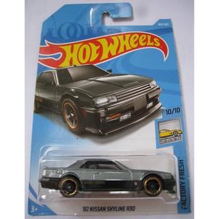 Xe mô hình Hot Wheels '82 Nissan Skyline R30 FJY21