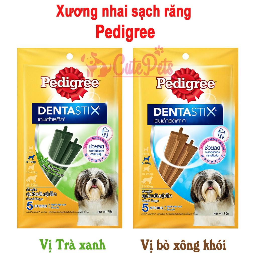 Xương nhai sạch răng Dentastix Pedigree cho chó - CutePets Phụ kiện chó mèo Pet shop Hà Nội