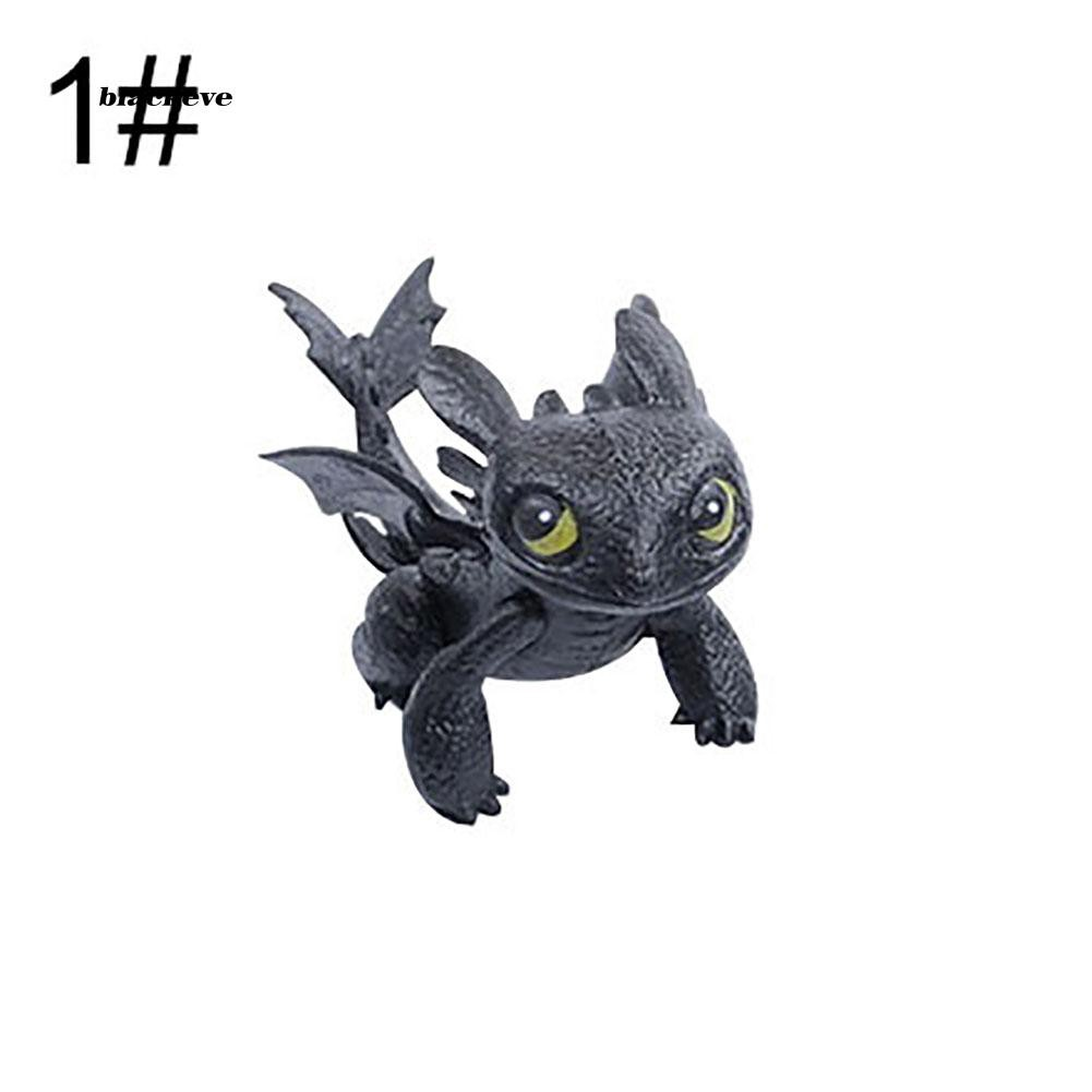 AZX_Cute How To Train Your Dragon 2 Action Figure Toothless PVC Children Kids Toy