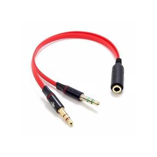 Cáp gộp tai nghe và mic ra jack 3,5mm âm- bảo hành 03 tháng (đổi mới trong suốt thời gian bảo hành)