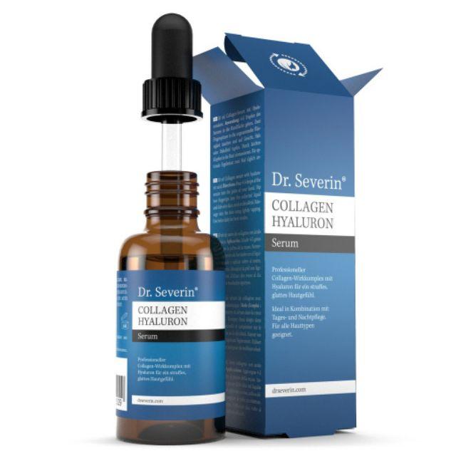 Tinh chất Dr Severin Collagen Hyaluron - Serum siêu chống lão hoá Collagen  Hyaluron Dr Severin 50ml | Shopee Việt Nam