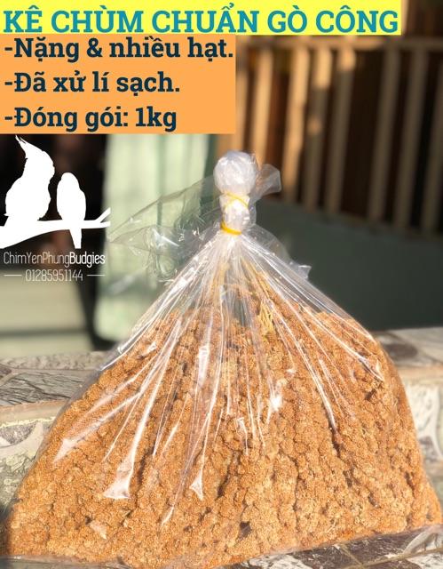 [Mã 267FMCGSALE giảm 8% đơn 500K] 1kg kê chùm cho thú cưng (vẹt, sóc, hamster...)