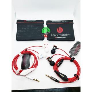 Tai nghe iBeats Monter Pro red (Chuyên Game) ,Tặng kèm núm tai,kẹp,bao da