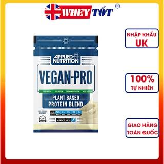 Whey protein thực vật Vegan Pro Applied Nutrition 1 lần dùng Orgain Protein organic bột đạm làm bánh pha sữa hữu cơ