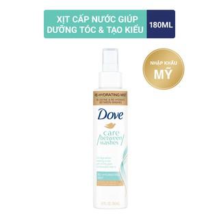 Xịt cấp nước cho tóc Dove Re-Hydrating Mist 180ml