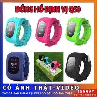 Đồng Hồ Thông Minh Định Vị Trẻ Em Q50 thumbnail