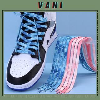 (140CM) Một Cặp - 2 Dây Giày Tie-Dye Loang Chất Cối - Vani Store