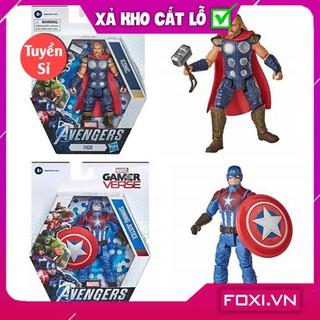 [SALE SẬP SÀN] Anh hùng Marvel-Captain america/thor-Đồ chơi cho bé đầy sáng tạo-thông minh-vui nhộn