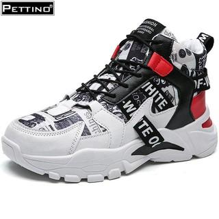 [Mã FAMALLT5 giảm 15% đơn 150K] Giày nam cổ cao giày đế cao thời trang hiện đại PETTINO - SSTC03