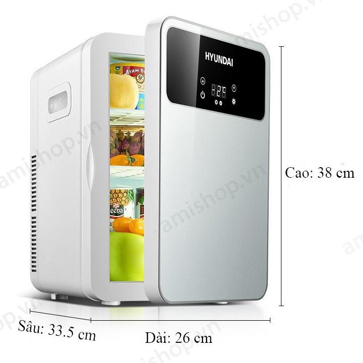 Tủ lạnh mini đựng mỹ phẩm Hyundai loại 6 lít