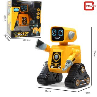 Electric Wireless Remote Control Intelligent Programmable Engineering Robot Toy Children's Day Gift