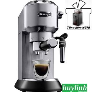 [Mã ELMS5TR giảm 5% đơn 5TR] Máy pha cà phê Delonghi EC685 - Tặng kèm máy xay cà phê KG79