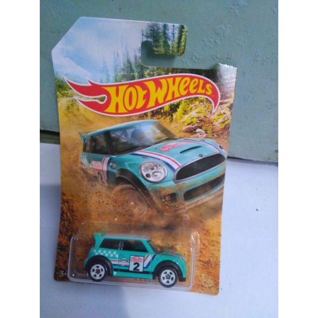 Xe Hotwheels Mini Cooper S challenge