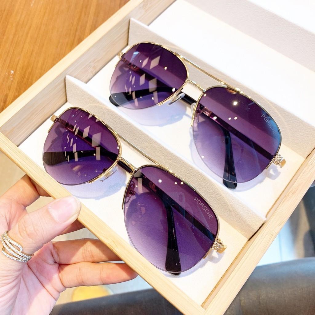 -Hàng nhập khẩu Mắt kính thời trang cao cấp gọng kim loại cho nữ A220 UV 💎 FREESHIP 💎 chống...