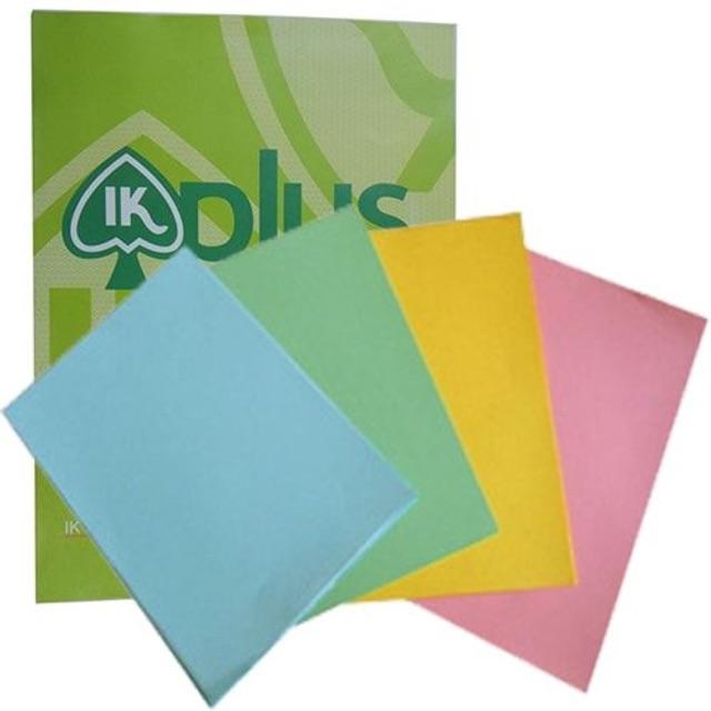 Giấy bìa màu A4, bìa cứng loại 1 đủ 100 tờ định lượng 180 gsm