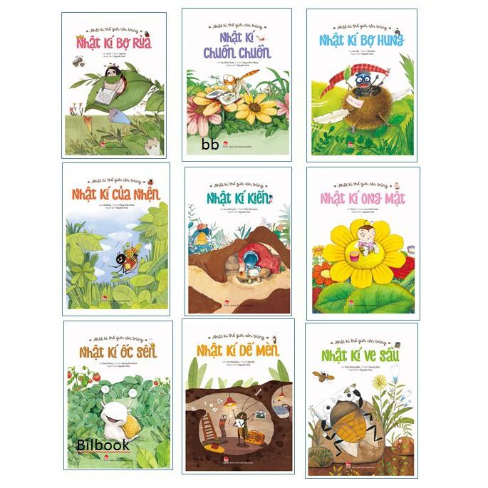 Sách - Trọn bộ Nhật ký côn trùng (9 quyển)