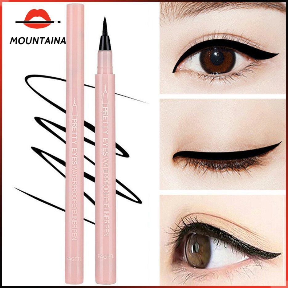 Bút kẻ mắt dạng lỏng chống nước khô nhanh mượt mà lâu trôi