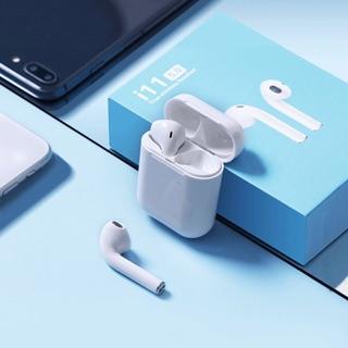 [Mã ELFLASH5 giảm 20K đơn 50K] Tai nghe bluetooth i11 TWS cảm biến vân tay công nghệ 5.0