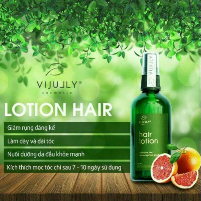 Tinh dầu bưởi xịt bưởi ViJully chính hãng - kích mọc tóc, dày tóc, giảm rụng tóc hiệu quả