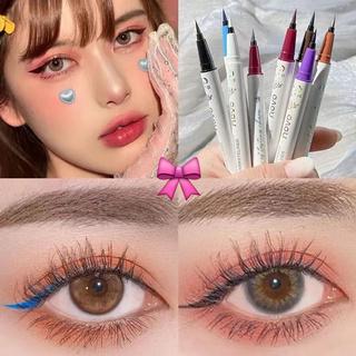 [COD] Bút kẻ mắt Novo chống thấm nước và dầu nhanh khô gồm nhiều màu sắc tùy chọn
