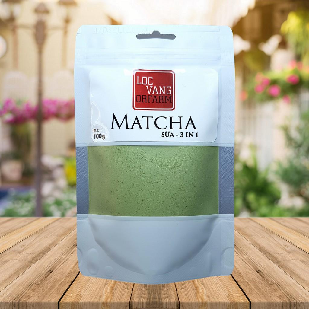 Bột Trà Xanh Matcha Sữa - 3 In 1 (100g)