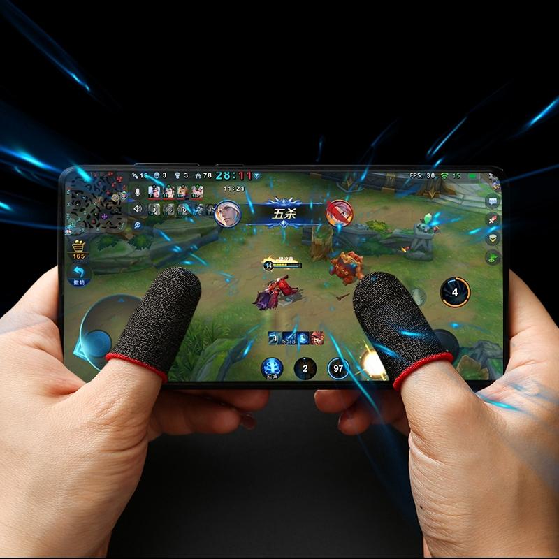 Găng đeo ngón tay chống mồ hôi chuyên dụng khi chơi game tiện lợi chất lượng cao