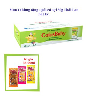 Sữa bột pha sẵn ColosBaby 110ml - 1 thùng 48 hộp