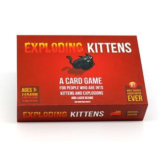 NewCombo Thẻ Bài mèo nổ Exploding Kittens + 4 bản mở rộnghot