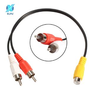 COD# RCA Female Jack to 2 RCA Male Plug Y Splitter Audio Video AV Adapter Cable #VN