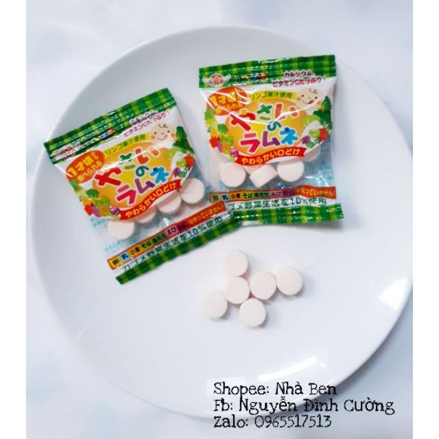 Kẹo rau bổ sung vitamin và chất xơ cho bé từ 12m+ - 2964385 , 217016956 , 322_217016956 , 80000 , Keo-rau-bo-sung-vitamin-va-chat-xo-cho-be-tu-12m-322_217016956 , shopee.vn , Kẹo rau bổ sung vitamin và chất xơ cho bé từ 12m+