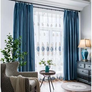 Yêu Thích+Rèm cửa sổ chống nắng 95%, 1.3x1.8m, Xưởng Rèm Á Đông - Giao Hàng Hỏa Tốc