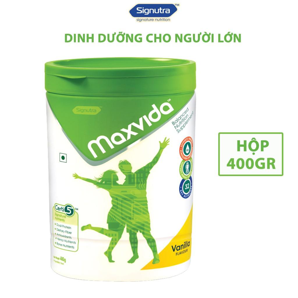Sữa Maxvida 400gr - Dinh dưỡng cân bằng cho người lớn tuổi