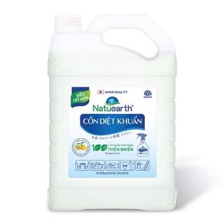 Cồn xịt diệt khuẩn ức chế SARS-CoV2 Natuearth Can lớn 3,8kg (Siêu Tiết Kiệm) thumbnail