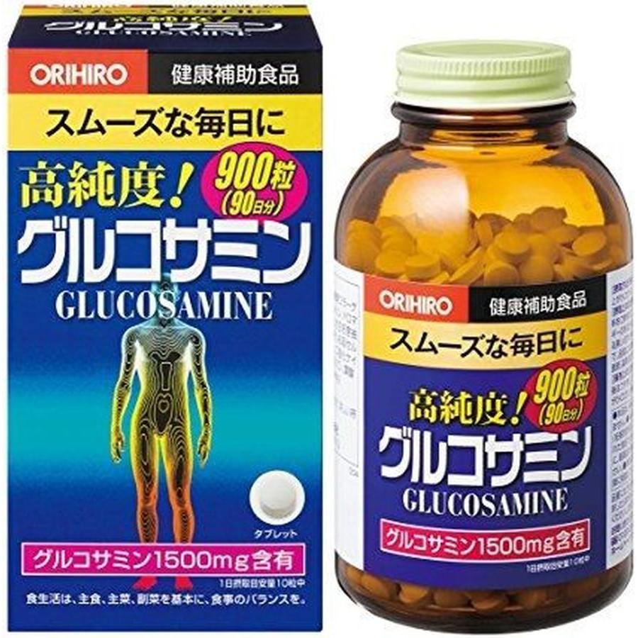 THUỐC KHỚP GLUCOSAMIN ORIHIRO NHẬT BẢN 1500MG 900 VIÊN