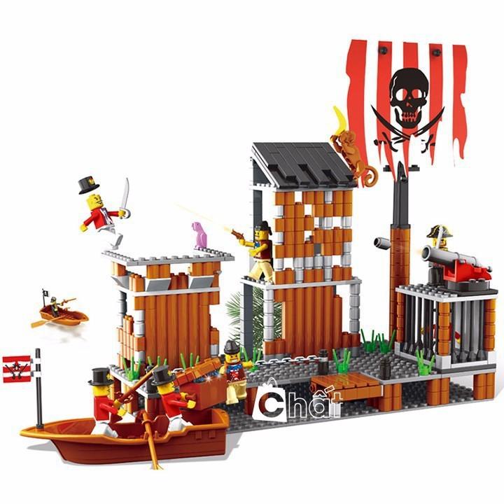 Bộ Đồ Chơi Lego Thiên Đường Cướp Biển No.33042N - 2429883 , 245138472 , 322_245138472 , 351000 , Bo-Do-Choi-Lego-Thien-Duong-Cuop-Bien-No.33042N-322_245138472 , shopee.vn , Bộ Đồ Chơi Lego Thiên Đường Cướp Biển No.33042N